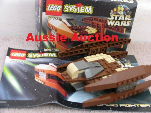 LEGO 7111 Star Wars - Droid Fighter  [RARE]