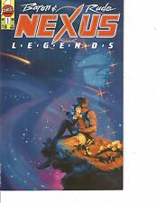 Lot Of 2 Comic Books First Nexus Legends #1 and Neow Brothers   ON7