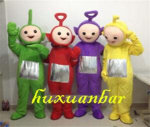 2020 Teletubby Teletubbies Cute Cartoon Mascot Costume Adult Suit Fancy Dress A Ebay