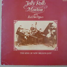 LP JELLY ROLL MORTON and his RED HOT PEPPERS, King of New Orleans Jazz  INTS5092