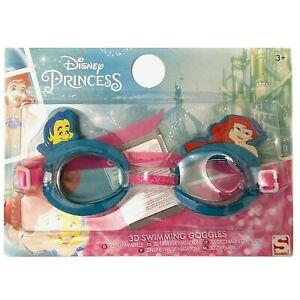 Disney Frozen 3D Swimming Goggles Girls Junior Swimwear Swim Training Gift