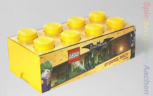 LEGO The Movie Batman Storage XXL Brick Stein Gelb 2x4 Aufbewahrung Dose Kiste