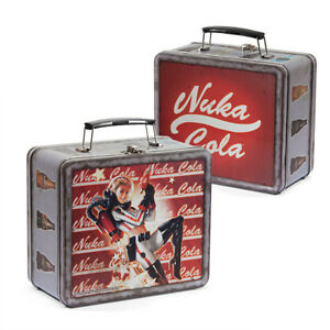 Fallout-4-Nuka-Cola-Lunch-Box-Tin-Tote-Lunchbox-limited-Collectors-FAST-DELIV