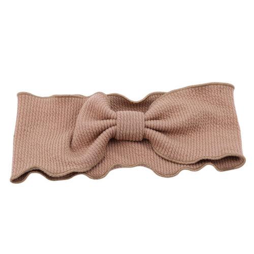 Ladies Elegant Wave Wavy Knit Fabric Headband Korean Style Knotted Hair Band  LP