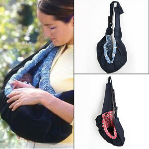 *UK Seller* Baby Carrier Sling Wrap Pouch Newborn Infant Breastfeeding Papoose