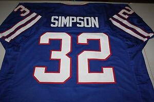 big sale 40fa7 5a0bb Details about OJ SIMPSON #32 RB SEWN STITCHED HOME THROWBACK JERSEY SIZE  XXL THE JUICE HOF 85