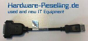 HP Displayport DP zu DVI-D Adapter P/N: 481409-001 Fh973aa 662727-001