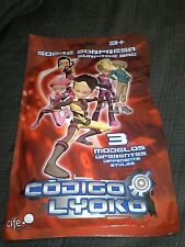 CODE LYOKO surprise bag INCLUDES mouse pad, stickers, strap & tags 1 of 3 models