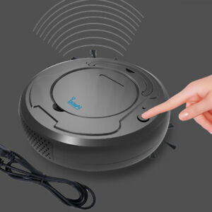 Vacuum Cleaner Parts Cleaning Appliance Parts Convenient Robot Vacuum Cleaner Poweful Suction 3in1 Pet Hair Home Dry Wet Mopping Cleaning Robot Usb Charge Vacuum
