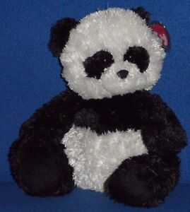 TY CLASSIC PLUSH - SHANGHAI THE PANDA BEAR with NEAR MINT TAG - SEE ... 803ed62d583