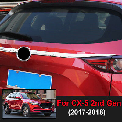 For Mazda CX-5 CX5 2017 2018 ABS Chrome Water Cup Glass Holder Cover Trim 1pcs