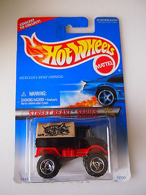 HOT WHEELS 1996 ISSUE MERCEDES BENZ UNIMOG | eBay