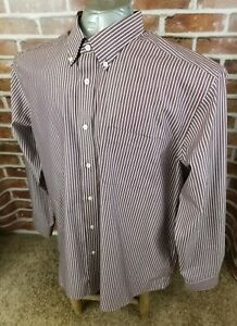 EDDIE-BAUER-Relaxed-Fit-Long-Sleeve-Casual-Dress-Shirt-Mens-Size-XL-Extra-Large