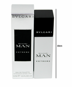 BVLGARI MAN EXTREME EAU DE TOILETTE NATURAL SPRAY 15 ML 0.5 FL.OZ ... caba3a45c5