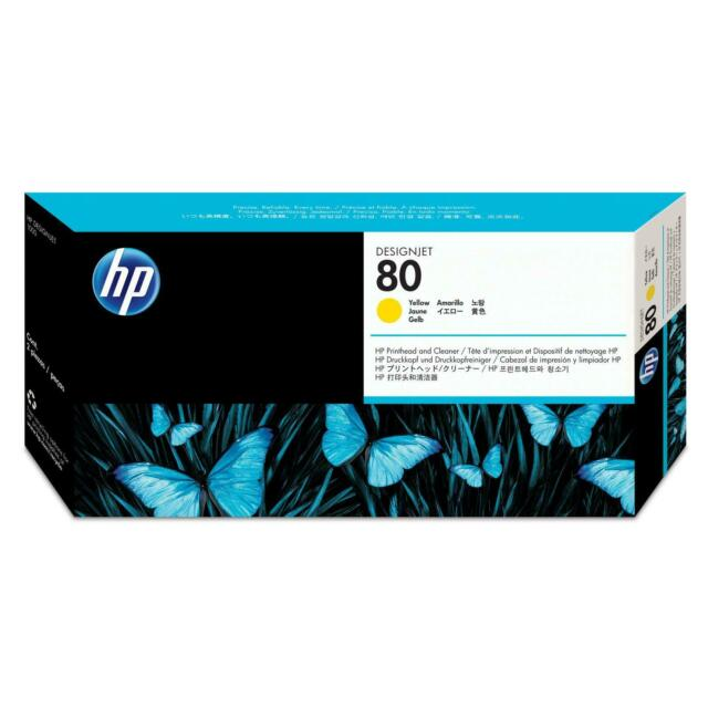 Genuine HP 80 Yellow Printhead C4823A