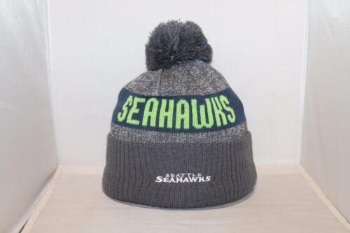 New Era SEATTLE SEAHAWKS NFL Pom Knit Beanie Hat Cap One Size Many Styles