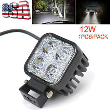 1 X 12W Work Light LED Offroad Driving Lamp Spotlight SUV Jeep ATV 4WD 12V