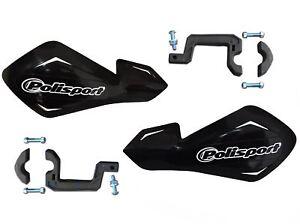 Polisport-FreeFlow-Lite-Black-Hand-Guards-fits-Yamaha-XT125-R-05-07