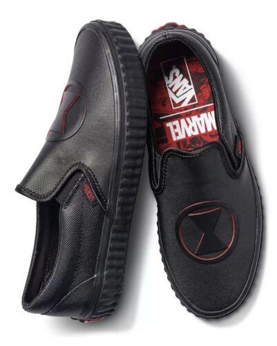 Donna Widow Marvel X Sz Vans 8 Slip 6 Classic Black Uomo 5 Nuovo On q4PwHwZt5