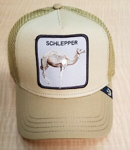 808bd4ddbcc Goorin Bros Animal Farm Trucker Baseball Hat Cap Schlepper Desert ...