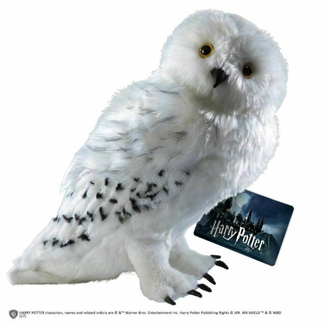 """Harry Potter Hedwig Owl Collectors Plush Soft Toy - 12"""" Collectable"""