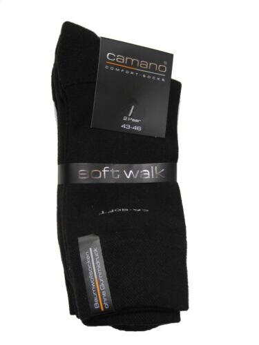 8 Pair Camano Socks Ca-Soft Walk Soft Terrycloth Sole Cushion Sole Plush Sole
