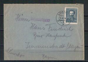 Tschechoslowakei-Zensur-Lhenice-nach-Immenstadt-Allgaeu-14-05-1938
