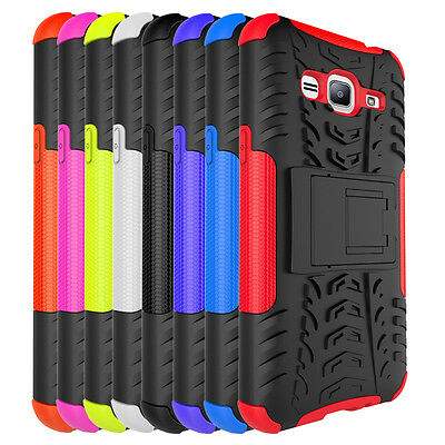 cheap for discount e6173 4f739 For Samsung Galaxy Sky Case Shockproof Armor Kickstand Protective Phone  Cover | eBay