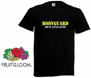 facb49dcb3 Bodyguard For My SISTER- Big Brother Gift Boys Kids Funny T shirt ...