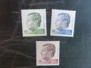 2015-LUXEMBOURG-DUKE-HENRY-SET-OF-3-MINT-STAMPS-MNH