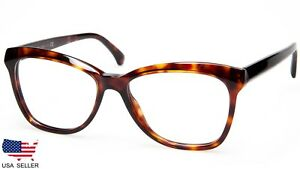 bdbd50daf06 NEW CHANEL CH 3353 c.1580 DARK RED HAVANA EYEGLASSES FRAME 54-16-140 ...