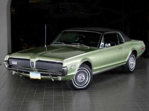 1968 Mercury Cougar 40 MIL Refrigerator Magnet Green