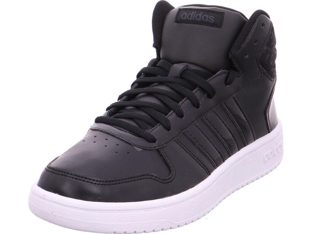 Adidas señores Hoops 2.0 mid W negro