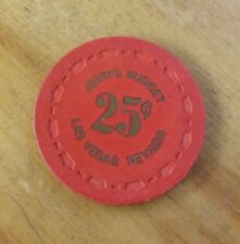 1964 Jerrys Nugget Casino Las Vegas, 1rst Issue .25 Chip