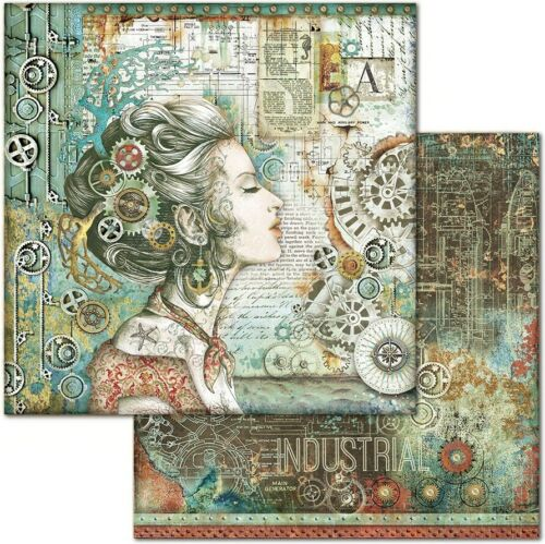 """Stamperia Double-Sided Cardstock 12/""""X12/""""-Lady"""