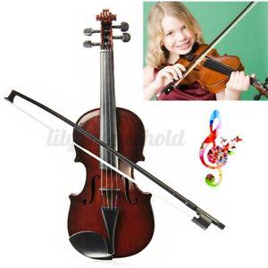 1/2 Akustik Violine Geige für Anfänger Kindergeige Musical Geschenk Spielzeug Y