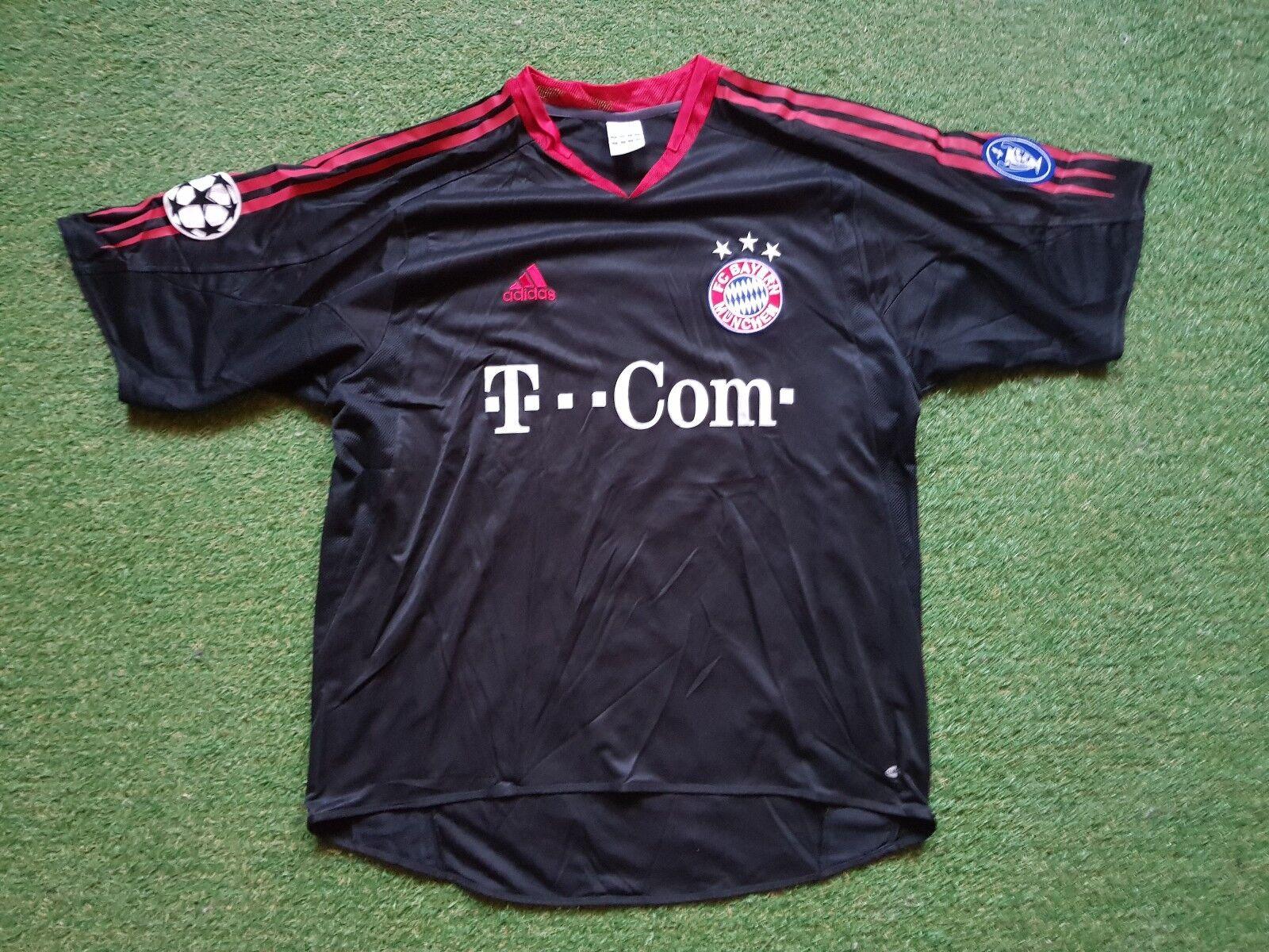 FC Bayern München Camiseta XL 2004 2005 Munich Adidas Jersey T Home