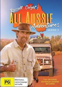 Russell-Coight-039-s-ALL-AUSSIE-Adventures-Series-Season-3-NEW-DVD
