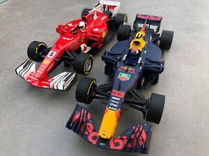 Carrera-Evolution-27575-27562-Formel-1-034-S-Vettel-5-034-034-M-Verstappen-33-034