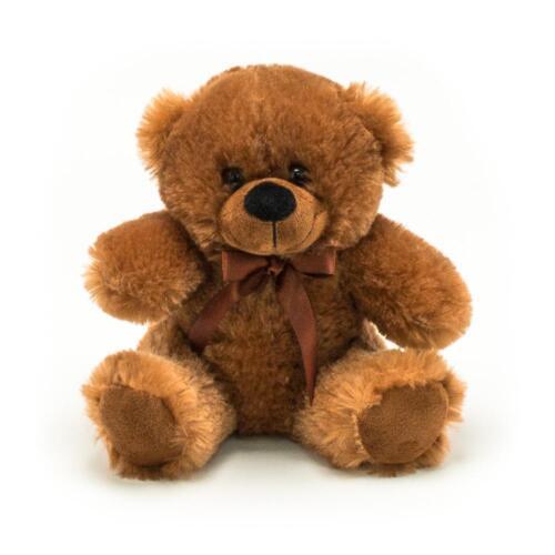"6/"" Brown Plush Teddy Bear Stuffed Animal Toy Gift New"