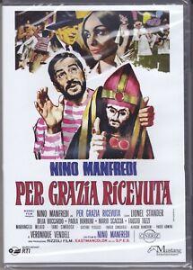 Dvd PER GRAZIA RICEVUTA con Nino Manfredi Mariangela Melato nuovo 1971