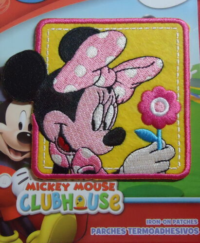 Micky Maus Clubhaus Bügelflicken // Iron-On Patch Disney Minnie Maus 9cm