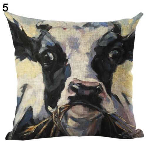 EG /_ Tiger Hund Ölmalerei Stil Kissenbezug dekorativer Überwurf Kissenbezug Pr