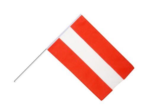 Stockflagge Stockfahne Österreich 60x90cm Fahne Flagge mit Stock