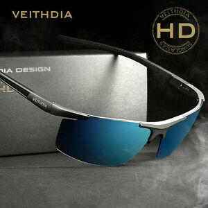 970f1e2dbbea Image is loading VEITHDIA-Polarized-Mens-Sunglasses -Outdoor-Sport-Pilot-Eyewear-
