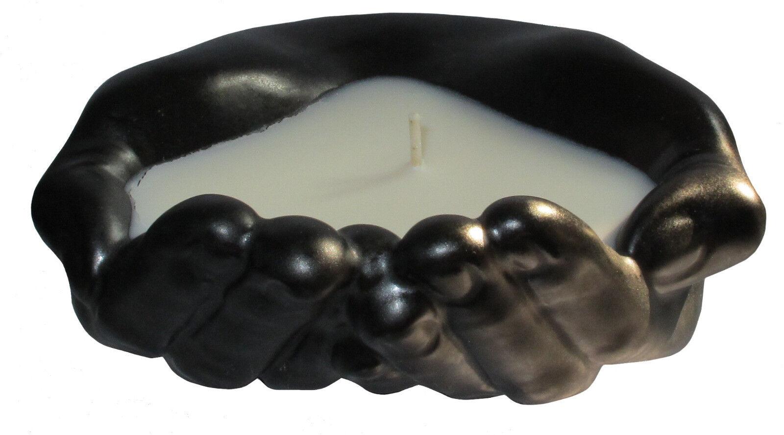 MUNIO CANDELA Kerze  Keramik Schale Schale Schale IHRE HÄNDE Sojawachs Duftkerze  Handarbeit | Die erste Reihe von umfassenden Spezifikationen für Kunden  65964f