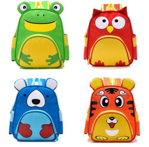 Toddler Kid Children Boy Girl 3D Cartoon Animal Backpack School Bag Kindergarten