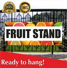 New Store Many Sizes Available Advertising Flag, Vine RIPE Tomatoes 13 oz Heavy Duty Vinyl Banner Sign with Metal Grommets