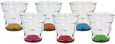 BIALETTI - Set 6 Bicchierini Multicolor In Vetro New