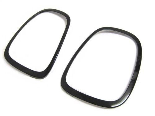 OEM MINI Cooper F55 F56 F57 Black Out Line Taillight Trim Ring Set